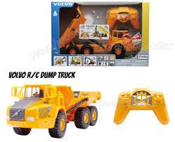 dump truck newray 1 32 r c radio control volvo a40d dump truck 88773 ebay