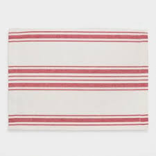 scotch green and white stripe dish towel kitchen towels red villa stripe kitchen tea towel world market