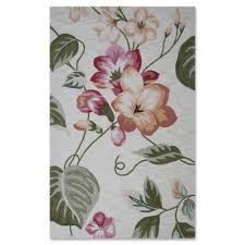 Hibiscus Rug Buy Coral Rug From Bed Bath U0026 Beyond