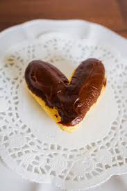 heart shaped chocolate heart shaped chocolate eclairs my name is snickerdoodle