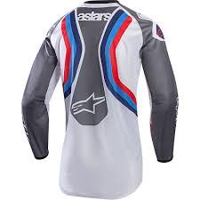 ama motocross gear new alpinestars 2017 mx le racer braap bomber nj grey blue