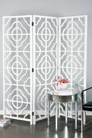 Quatrefoil Room Divider Zena Gold Room Screen Oval Pattern For The Home Pinterest