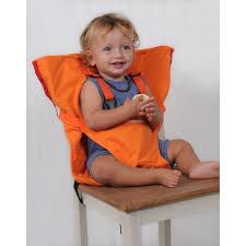 chaise bébé nomade sack n seat chaise bébé nomade orange