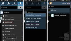 how to transfer contacts android how to import sim contacts to any android phone