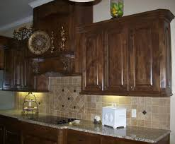 Knotty Hickory Kitchen Cabinets Alder Kitchen Cabinet Stains Tehranway Decoration