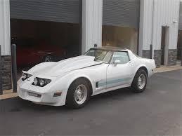 1981 white corvette 1981 chevrolet corvette t top 65 818 white coupe 350 cu in