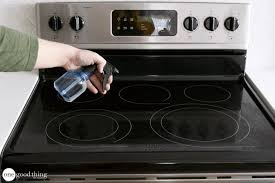 Clean Electric Cooktop A Simple And Effective Way To Clean Your Glass Stovetop One Good