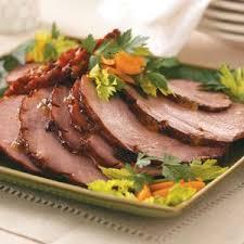 thanksgiving ham recipes taste of home