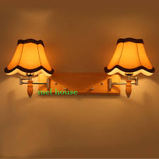 Modern Wall Lights For Bedroom - dimmer switch wall light oak modern wooden wall lamp lights for