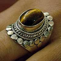 tiger eye jewelry its properties sterling silver tigers eye rings at novica