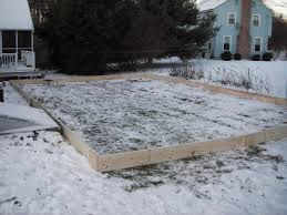 Making Ice Rink In Backyard Claypool Ice Rink