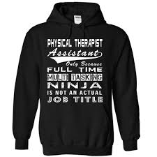 ninja physical therapist assistant clothing pinterest