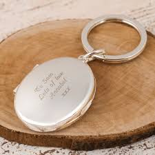 engraved keepsakes engraved photo key ring gettingpersonal co uk