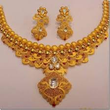 gold jewelry designs necklace images Gold jewellery designer gold necklace manufacturer from pune jpg