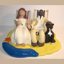 chair cake topper themed wedding cake toppers totally toppers
