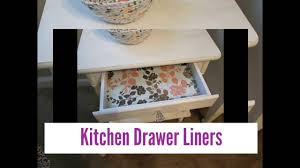 What Is The Best Shelf Liner For Kitchen Cabinets by Kitchen Shelf Papers And Drawer Liners Youtube