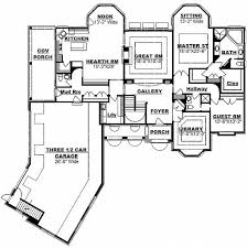 U Shaped House Plans With Courtyard 15 Best House Plans Images On Pinterest Courtyard House Plans