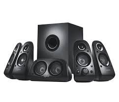 logitech z506 5 1 surround sound system with 3d stereo