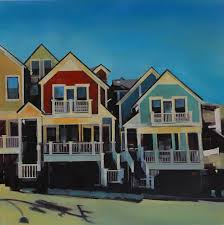 Row Houses by Terzian Galleries Park City Utah Art Gallery Angela Bentley