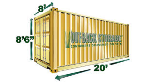 size of shipping containers