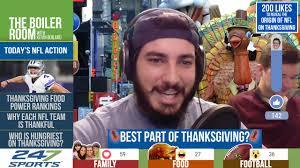 kevin boilard tbr thanksgiving special happy