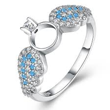 zircon rings images 925 sterling silver ring fashion trend female silver wings zircon jpg
