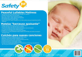 Safety First Heavenly Dreams White Crib Mattress by Amazon Com Safety 1st Peaceful Lullabies Baby Mattress White