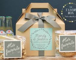out of town guest bags set of 6 out of town guest box wedding welcome box