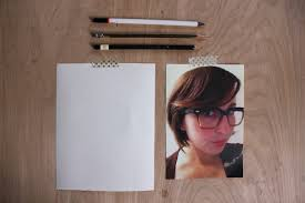 4 steps for how to draw hair in pencil