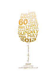 60 birthday celebration 60th birthday invite pinteres