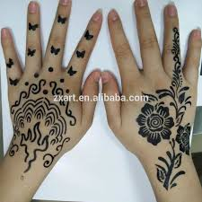 körper temporäre airbrush schablone henna tattoo schablone
