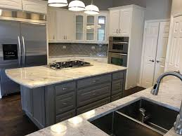 white kitchen cabinets with river white granite river white granite backsplash nathan s painters