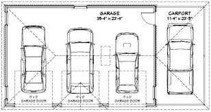 garage dimensions best 3 car garage dimensions within marvellous stan 9918