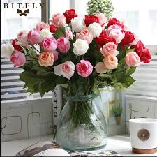 flowers for birthday 11pcs pack fresh artificial flowers real touch flowers