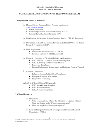 clinical research coordinator resume sample resume for your job