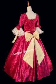 p540 cosplay belle princess christmas women dress costume with bow