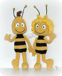 throwback childhood willy maya bee free crochet