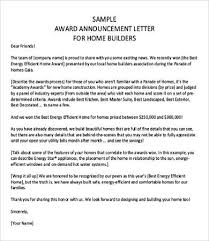 announcement letters 9 free word pdf documents download free