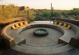 Concrete Firepits Pit Ideas 25 Designs For Your Yard
