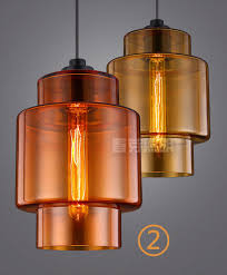 Colored Glass Pendant Lights Vintage Art Color Glass Pendant Lights Classic For Mutto E27