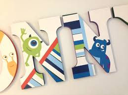 Kids Room Letters by Personalized Wooden Wall Letters For Nurseries And Kids Rooms