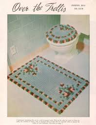 crochet bathroom set pattern crochet patterns