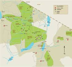 Map Of Tanzania Let U0027s Travel The World Serengeti National Park