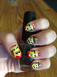 thanksgiving things to do curlyhaired nail designs thanksgiving minion nail tutorial