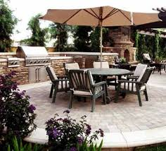 Backyard Rooms Ideas Summer Kitchen Outdoor Rooms Modern Backyard Ideas