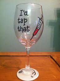 Graduation Wine Glasses The 25 Best Nursing Graduation Gifts Ideas On Pinterest Nursing