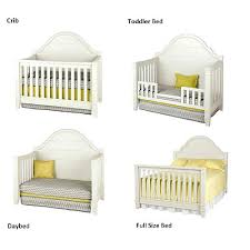 Baby Crib Convert Toddler Bed Baby Crib That Converts To Toddler Bed Starting Bassett Crib