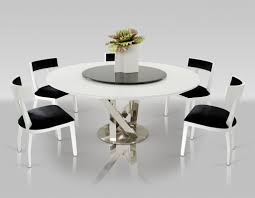 Modern Glass Dining Table by Dining Tables Outstanding Round Contemporary Dining Table Modern