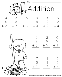 1st grade math and literacy worksheets with a freebie addition