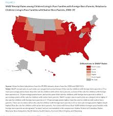 Map Snap Usa by Low Income Immigrant Families U0027 Access To Snap And Tanf Urban